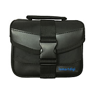 i-110 S Black Universal Camera Bag for All Mini DSLR DV Cameras Nikon Canon Sony Olympus... - Black