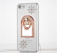Для Стразы Кольца-держатели Зеркальная поверхность Своими руками Кейс для Задняя крышка Кейс для Мультяшная тематика Мягкий TPU для Apple
