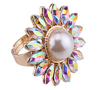 Ring Jewelry Euramerican Fashion Gemstone Chrome Jewelry Jewelry For Special Occasion Anniversary Gift 1pc