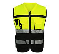 Motorradfahren Kleidung atmungsaktiv Schweiß Sicherheit reflektierende Kleidung einer Größe unisex