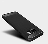 Для Защита от удара Кейс для Задняя крышка Кейс для Один цвет Мягкий TPU для Samsung S8 S8 Plus S7 edge S7 S6 edge S6