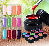 Nail Polish UV Gel  8g 1piece Painting Gel UV Color Gel Soak off Long Lasting