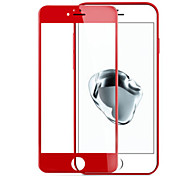 For Apple Iphone7 3D Red Tempered Glass Screen Steel Explosion-Proof Membrane Against Fingerprints