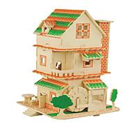 Puzzle Kit fai-da-te Puzzle 3D Puzzle Costruzioni Giocattoli fai da te Quadrata Edificio famoso Edificio in stile orientale Casa 1