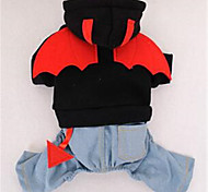 Dog Clothes/Jumpsuit Dog Clothes Winter Cartoon Cute