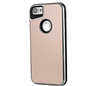 For Apple iPhone 7 7Plus 6S 6Plus 5 5S Case Cover Electroplating Scrub Two-In-One Phone Case