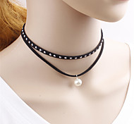 Simple Lolita Black Necklace Lolita Accessories