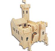 Puzzle Kit fai-da-te Puzzle 3D Puzzle Giocattoli di logica e puzzle Costruzioni Giocattoli fai da teQuadrata Castello Edificio famoso