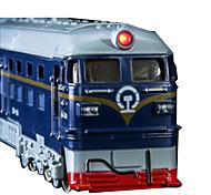 Züge Aufziehbare Fahrzeuge Auto Spielzeug 1:10 Metall Plastik Blau