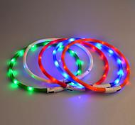 Colarinho Luzes LED Segurança Sólido