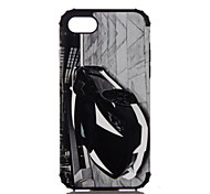 For Apple iPhone 7 Plus iPhone 7 iPhone 6s Plus iPhone 6s iPhone 6 Plus iPhone 6 Case Cover The Car Pattern Plastic with TPU Frame
