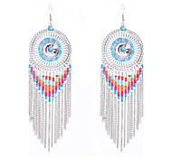 Dangle Earrings Jewelry Alloy Vintage Bohemian Punk Personalized Euramerican Handmade Statement Jewelry Jewelry Silvery JewelryDaily