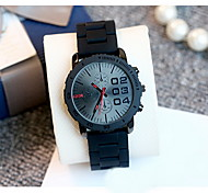 Women's Fashion Watch Water Resistant / Water Proof Japanese Quartz Silicone Band Cool Casual Luxury Black Red Purple
