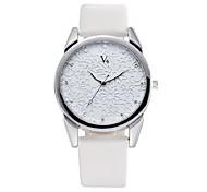 6 Flower Flake Pattern Set Diamond Waterproof Quartz Belt Watch
