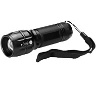 U'King Mini Size Pocket Zoomable 600LM LED Flashlight Torch