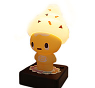 1Pcs   Novelty Ice Cream Man Nightlights Usb/Aa Battery Small Led Table Lamp  Kids Toys Children Bedroom Decor Light