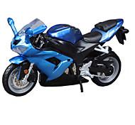Motorräder Spielzeuge Auto Spielzeug 1:18 ABS Blau Model & Building Toy