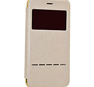 Назначение iPhone 8 iPhone 8 Plus Чехлы панели с окошком С функцией автовывода из режима сна Покрытие Флип Чехол Кейс для Сияние и блеск