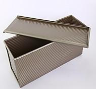 450grams loaf cake pan non stick food grade aluminum baking pan with cover FDA