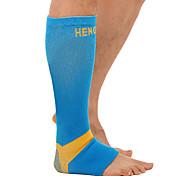 Solid Sport Socks / Athletic Socks Unisex Socks Breathable Protective Sweat-wicking Comfortable Cotton Football/Soccer Leg Guard ShinGuard