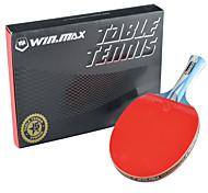 5 Estrellas Tabla raquetas de tenis Madera Mango Largo Invertidos espinillas 1 Raqueta Al Aire Libre Práctica