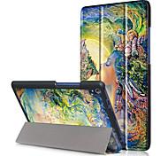 caso de la cubierta de impresión para la lengüeta lenovo Tab3 3 8 plus tb-8703 tb-8703f tb-8703n 8 pulgadas con protector de pantalla