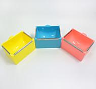 Rongeurs Lapins Chinchillas Bols & Bouteilles d'eau Portable Multifonction Métal Plastique Jaune Bleu Rose