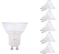 GMY® GU10 LED Spotlight Glass Flip-chip 1 COB 450lm 5.5W 6500K Cool White AC100-240V CE/RoHS 6 pcs