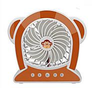 Yy wg16-m10 usb mini ventilador meng macaco mini ventilador recarregável pequeno ventilador recarregável mini ventilador usb cartoon