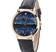 Women's Fashion Watch Wrist watch Casual Watch Quartz PU Band Charm Unique Creative Luxury Elegant Cool Multi-colored Scene Watches