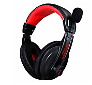 Gaming Headphone 3.5mm Game Headset Stereo Earphone with Microphone Noise Canceling Skype for PC Laptop Gamer