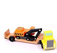 Kit fai-da-te Costruzioni Gioco educativo per il regalo Costruzioni Furgone Legno Da 2 a 4 anni Da 5 a 7 anni Giocattoli