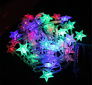 3W W String Lights lm <5V 4 m 40 leds Warm White White Blue Pink Multi Color