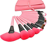 24 Pink Makeup Brush Make-up Brush Set Beauty Tools Make-up Brush Sets