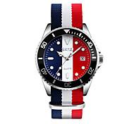 SKMEI Мужской Модные часы Наручные часы Японский Кварцевый Календарь Защита от влаги Материал Группа Cool Разноцветный