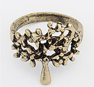 Euramerican Contracted The Tree Of Life Punk Vintage Ring Gift Jewelry