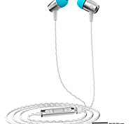 HUAWEI PLUS Mobile Earphone for Cellphone Computer In-Ear Wired Aluminum 3.5mm With Microphone Volume Control Noise-Cancelling Hi-Fi