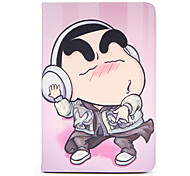 Para apple ipad mini1 2 3/4 capa caso com stand flip padrão corpo cheio cartoon cartoon hard couro