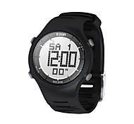 Mens arbeiten beiläufige Digitaluhren 30m wasserdichte digitale Doppelzeit Stoppuhr Outdoor-Sport-Armbanduhr Ezon L008