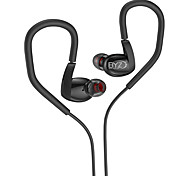 For Mobile Phone Cellphone Computer Sports Fitness In-Ear  Wired Metal 3.5mm With Microphone  Volume Control Noise-Cancelling Hi-Fi