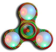 Fidget Spinner Hand Spinner Toys Ring Spinner LED Spinner ABS EDCStress and Anxiety Relief Office Desk Toys for Killing Time Focus Toy