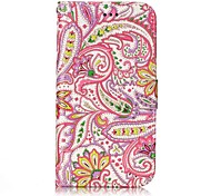 For Samsung Galaxy J3 (2017) J2 Prime Case Cover Pepper Flowers Pattern Shine Relief PU Material Card Stent Wallet Phone Case J3 J3 (2016)