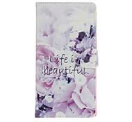 Pour apple iphone 7 plus 7 6s plus 6plus 5 5s se case cover carte porte portefeuille avec support flip pattern plein corps étui fleur dur