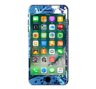 1 ед. Защита от царапин Масляные картины Прозрачный пластик Стикер для корпуса Сияющий в темноте Узор ДляiPhone 7 Plus iPhone 7 iPhone 6s