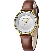 Women Sport Watch Dress Watch Fashion Watch Wrist watch Unique Creative Watch Chinese Quartz Water Resistant / Water Proof Punk Leather