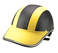 Motor Helmet Baseball Cap Style Safety Hard Hat Anti-UV  Yellow Black