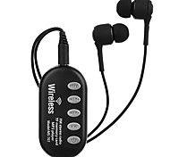 Cwxuan® модная регулируемая Bluetooth-гарнитура с микрофоном / управлением телефона / проигрыванием музыки / слотом fm / tf