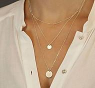 Жен. Ожерелья с подвесками длинное ожерелье Бижутерия Сплав Мода Сексуальные платья бижутерия Бижутерия Назначение Для вечеринок