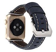 Para 38mm 42mm iwatch maçã relógio banda artesanal itália bezerro couro relógio 1 2 pulseira