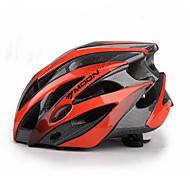 MOON Универсальные Велоспорт шлем 25 Вентиляционные клапаны Велоспорт Горные велосипеды Шоссейные велосипеды Велосипедный спортЛ: 58-61CM